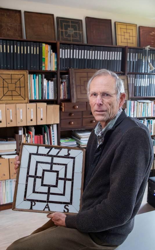 Wim van Mourik verzamelt damborden.