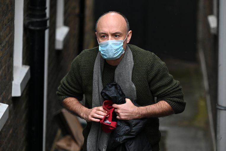 De vrijdag opgestapte Dominic Cummings. Beeld Hollandse Hoogte/AFP