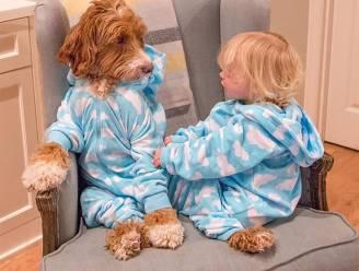 De schattigste Instagramsterren: hond en kleuter in dezelfde outfits