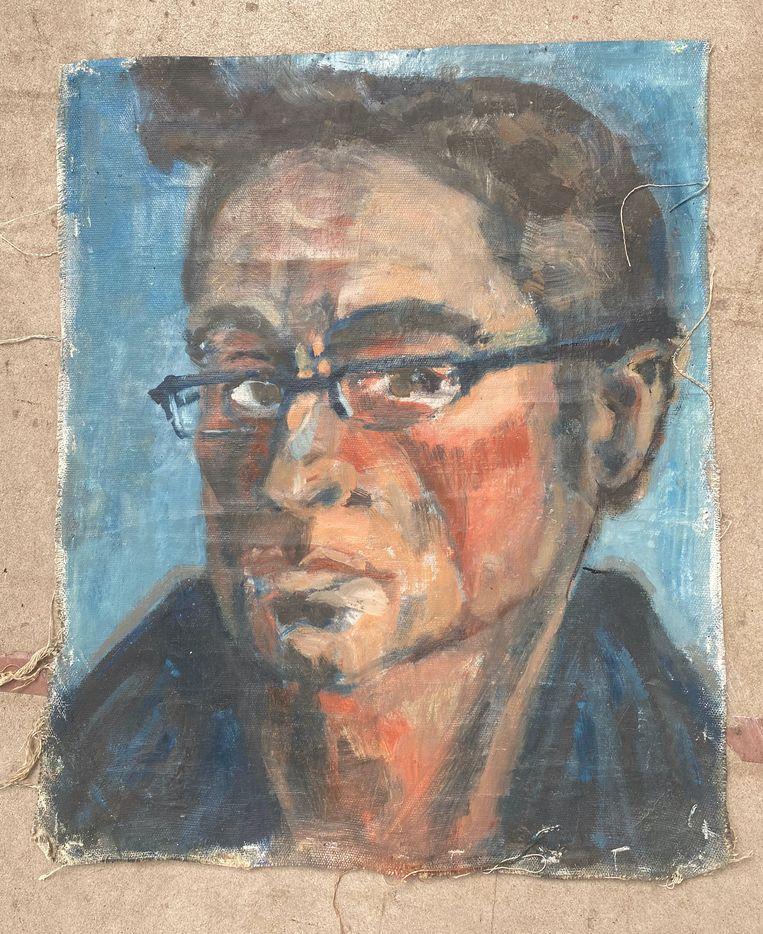 Jochem Hartz, zelfportret. Beeld