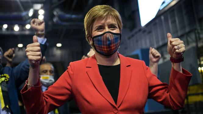 Schotse nationalisten lijken flink te gaan winnen