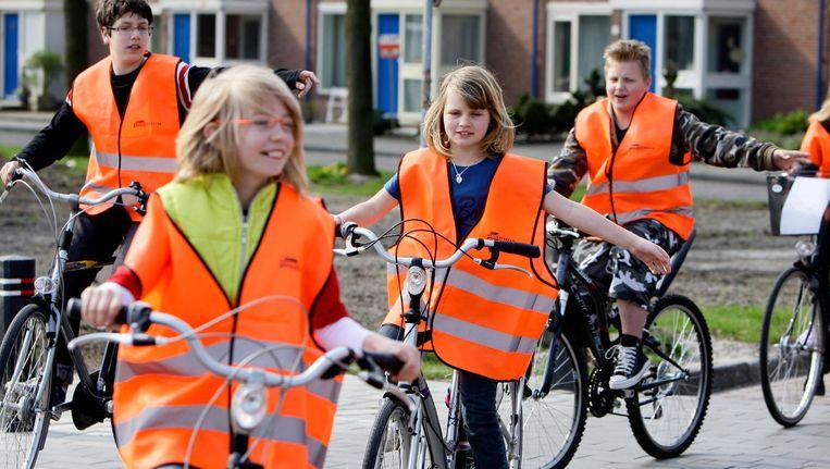 VVN wil fietslessen gaan aanbieden op basisscholen Beeld anp