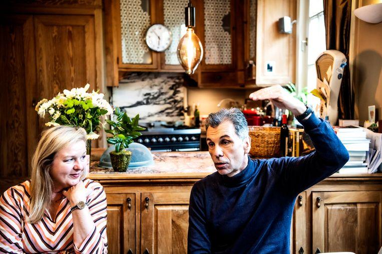 Christophe Deborsu: 'Er is te weinig liefde in dit land. Slechts vijf op de duizend nieuwe huwelijken is nog Vlaams-Waals.' Beeld Saskia Vanderstichele