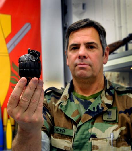 Deze bom-expert uit Stampersgat maakte talloze dodelijke explosieven onschadelijk