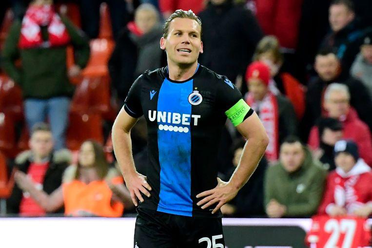 Brugge-aanvoerder Ruud Vormer. Beeld Photo News