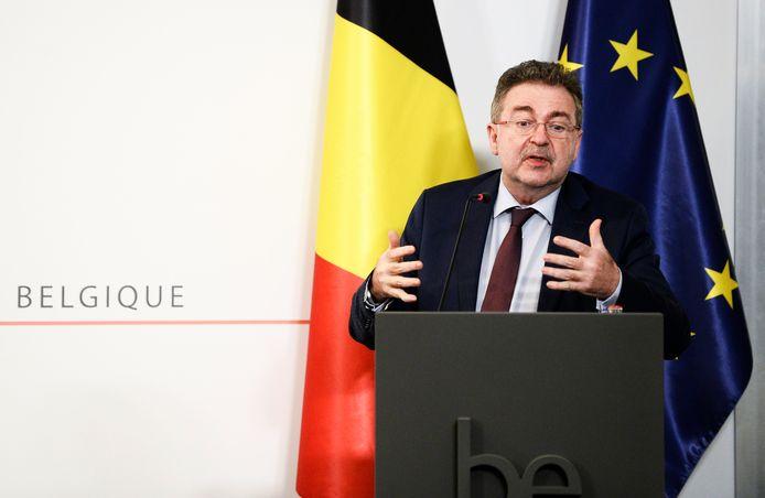 Brussels minister-president Rudi Vervoort (PS).