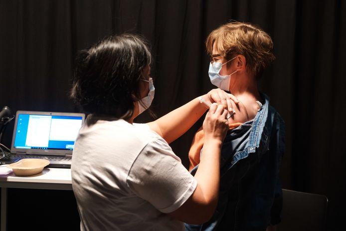Vaccinatiecentrum ZORA in Lint.