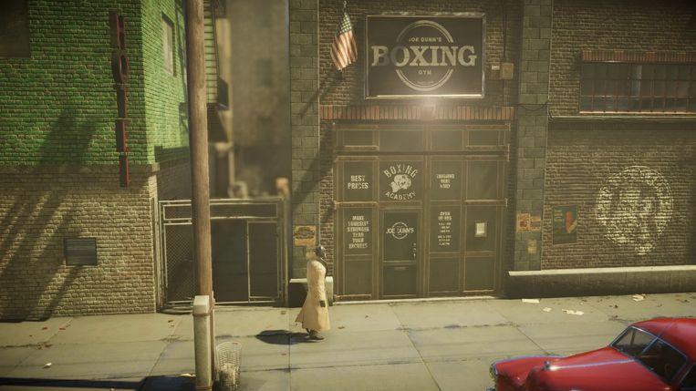 Scène uit 'Blacksad: Under the Skin'. De game levert, volgens zijn makers, een ervaring die dicht bij de 'leeservaring' van de strip komt. Beeld Microïds