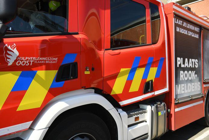 Illustratie brandweer. Oost Vlaams-Brabant.