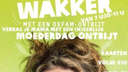 Opendeur en moederdagontbijt bij Oxfam Lichtervelde