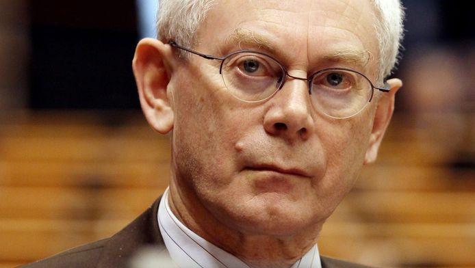 Europees president Herman Van Rompuy © ANP