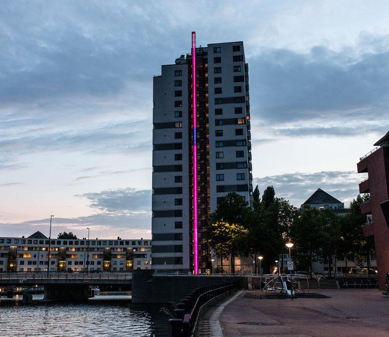 Watertoren, Van Eesterenlaan.  Beeld Nosh Neneh