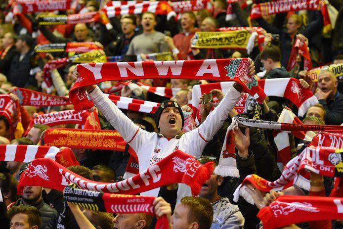Fans van Liverpool.