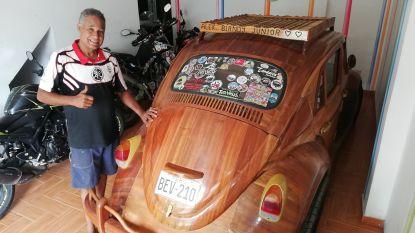 Vader rijdt duizenden kilometers in houten Kever naar dochter in New York met prachtig cadeau: arriveren op haar 17de verjaardag