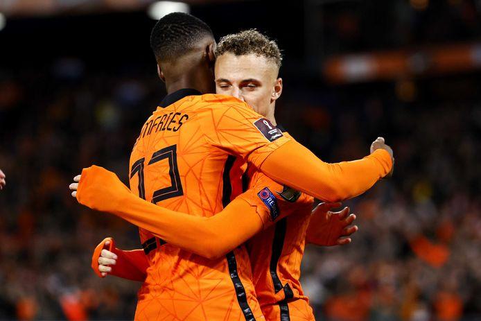 Noa Lang a réussi ses grands débuts avec l'équipe nationale des Pays-Bas.