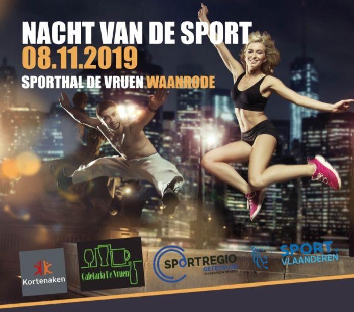 Affiche Nacht van de sport