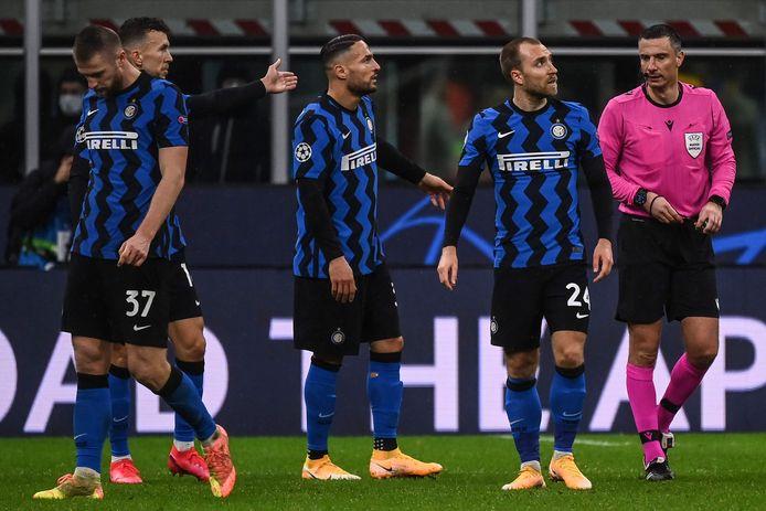 Het Europese avontuur zit er voor Inter op.