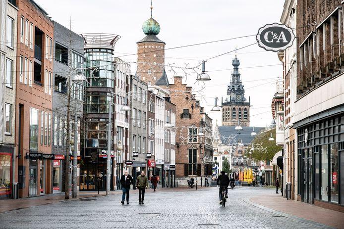 Het centrum van Nijmegen.