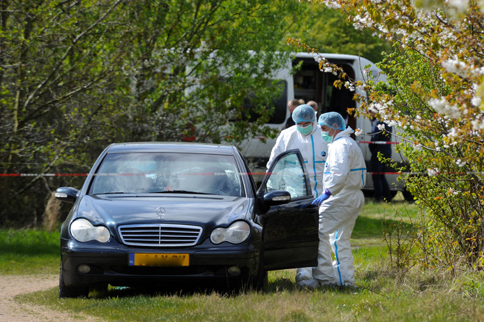 ldm13/04/2017 - Dishoek - echtpaar vermoord -