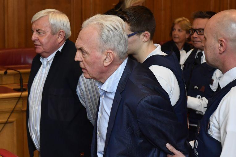 André Gyselbrecht bij zijn veroordeling op 6 mei.