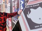 Verkiezingsposters: 'Hier gaan m'n haren overeind van staan'
