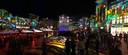 Kleurrijke Markt in Eindhoven tijdens Glow.