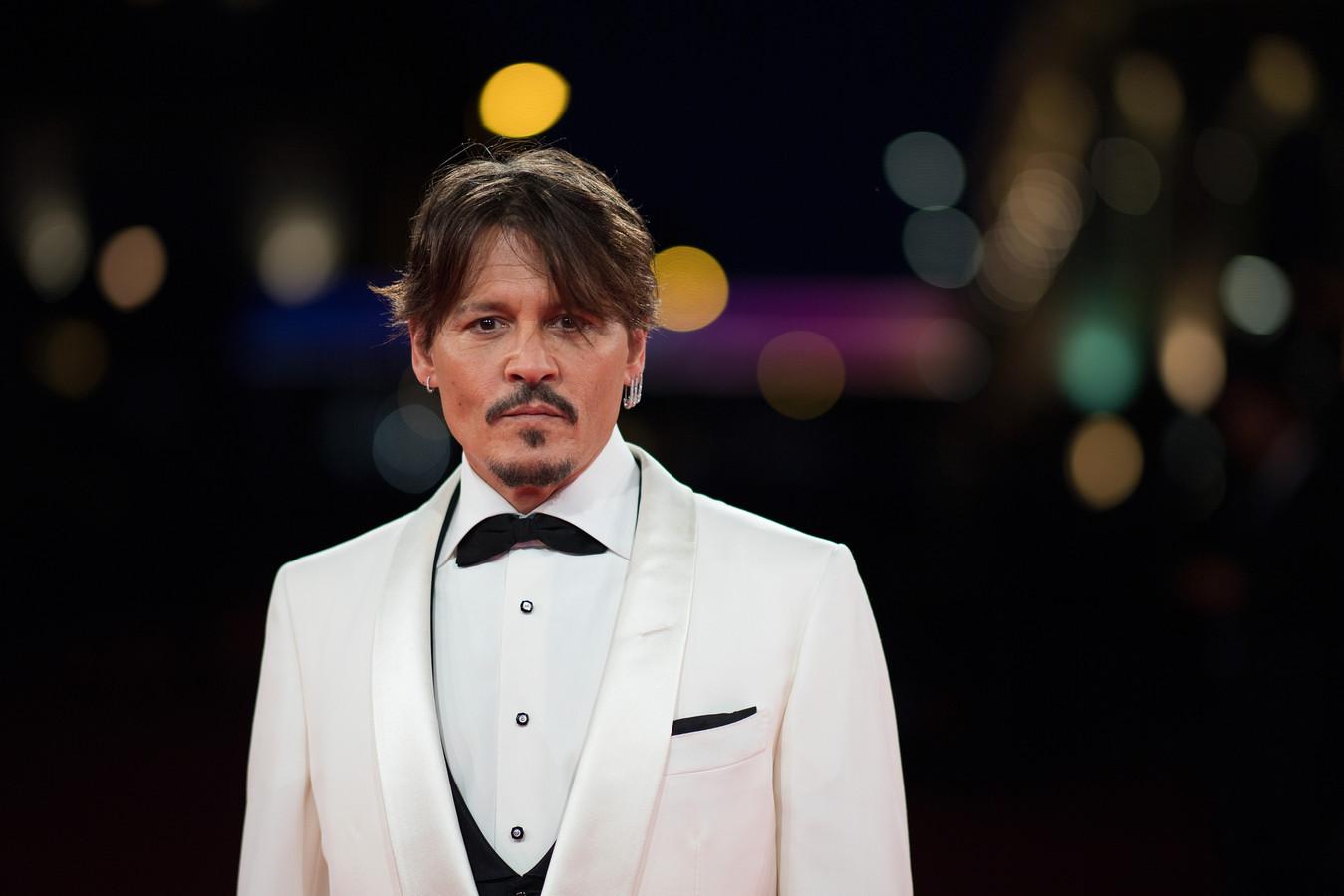 De Amerikaanse acteur Johnny Depp.