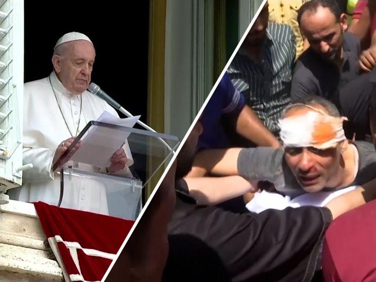 Opnieuw veel doden na luchtaanvallen op Gaza, paus roept op tot wapenstilstand