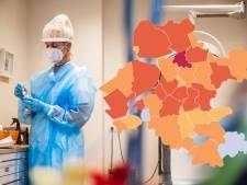 KAART | Flevoland en IJsselland zien coronabesmettingen stijgen, situatie in Zwartewaterland nog slechter