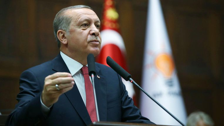 De Turkse president Erdogan. Beeld anp