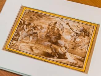 Verloren gewaande Rubens-tekening keert terug naar Antwerpen: Museum Plantin-Moretus toont ze vanaf dit weekend