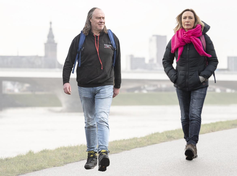 Ap Dijksterhuis en Margot Ribberink.