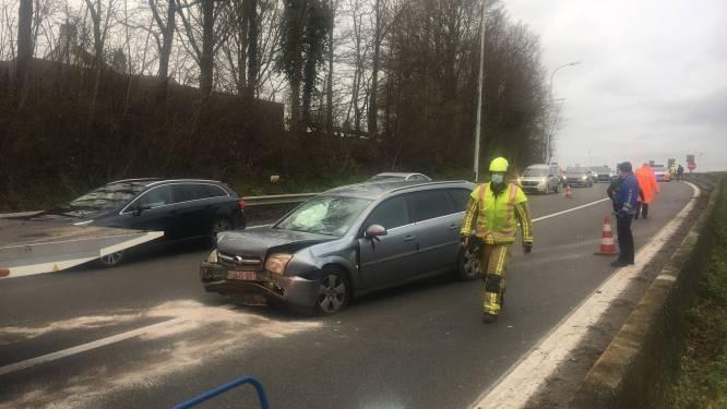 Passagierster gewond bij slipper na uitwijkmanoeuvre in de 'put' in Bissegem