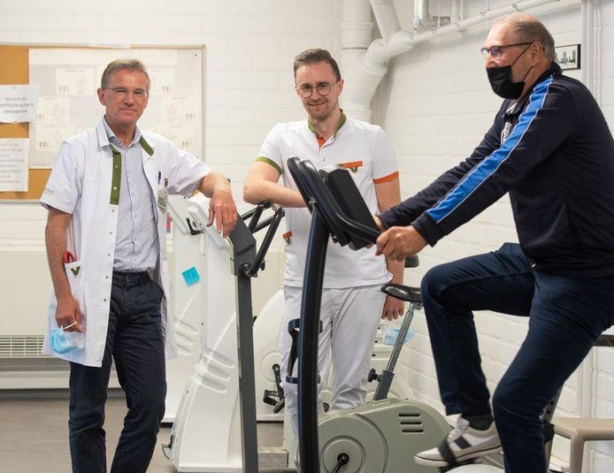 De fitnesstoestellen krijgen een tweede leven bij een Hasselts woonzorgcentrum en bij een organisatie die zich inzet voor mensen met een beperking.