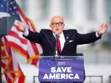 'Trumps vertrouwelingen Giuliani en Bannon niet op lange lijst met gratiebesluiten'