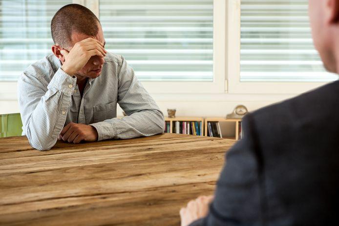 Foto ter illustratie. ,,Of het nu gaat om slecht functioneren of een reorganisatie, ontslag overvalt mensen bijna altijd.''