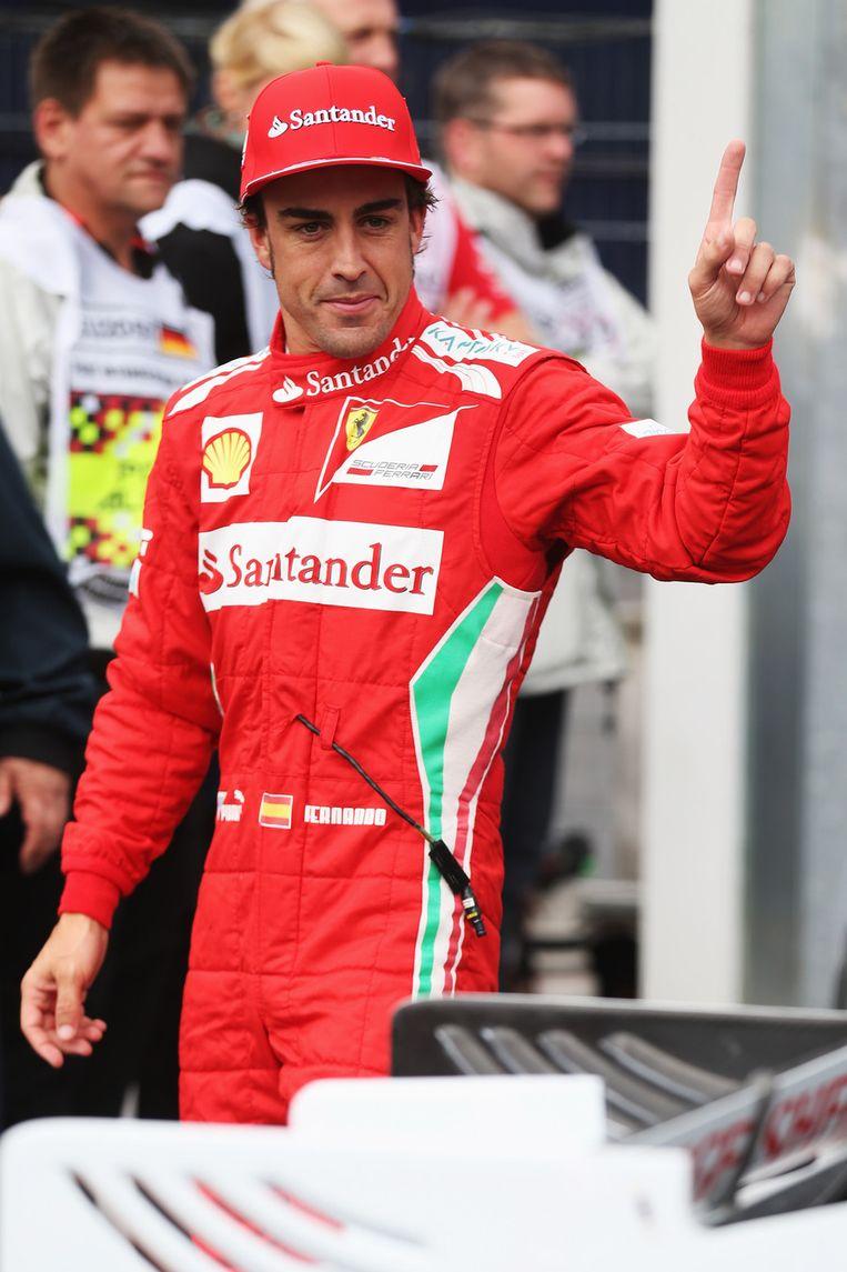 Fernando Alonso. Beeld getty
