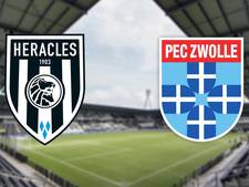 Heracles ontvangt favoriete tegenstander PEC Zwolle