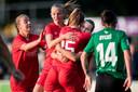 FC Twente viert de 2-0 van Renate Jansen.