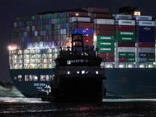 Boskalis heeft eerste 'zware jongen' bij containerschip en waagt eerste poging om het los te trekken