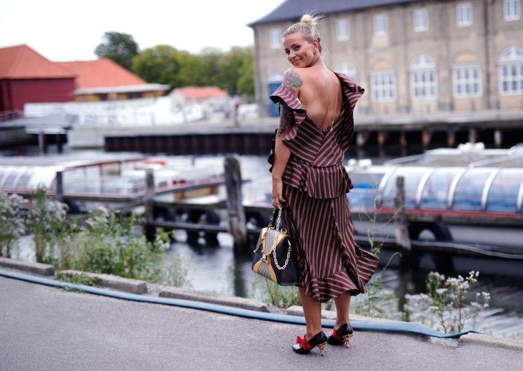 De Noorse influencer Janka Polliani vindt dat alle bewerkte sociale media-berichten van het retoucheerlabel moeten worden voorzien; niet alleen advertenties.  Beeld x