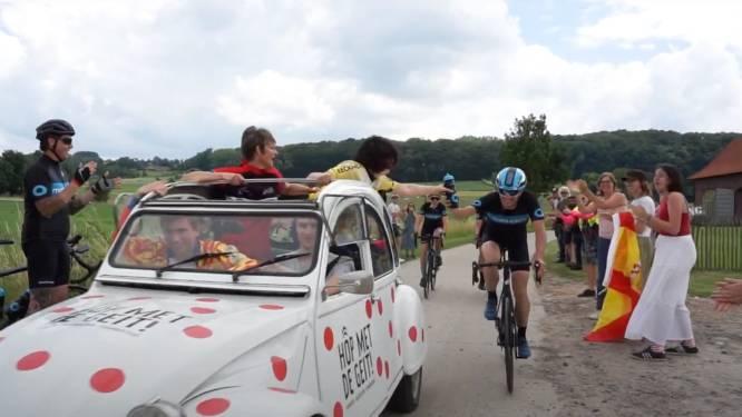 Groepen strijden op fietsen en in 2-pk's voor Flandrien Trophy van Centrum Ronde van Vlaanderen