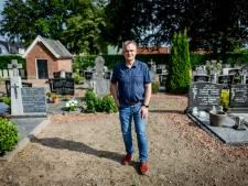 Korporaal Bernard Plegt krijgt zijn 'verdwenen' graf terug op kerkhof Weerselo: 'We zoeken geschikte steen uit die tijd uit'