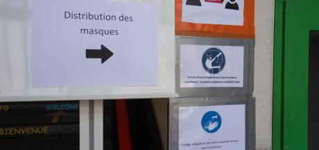 Priorité aux sans-abri pour les masques de la Ville de Charleroi