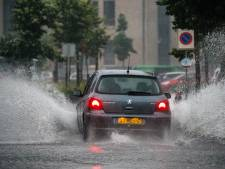 Hevig onweer in Flevoland