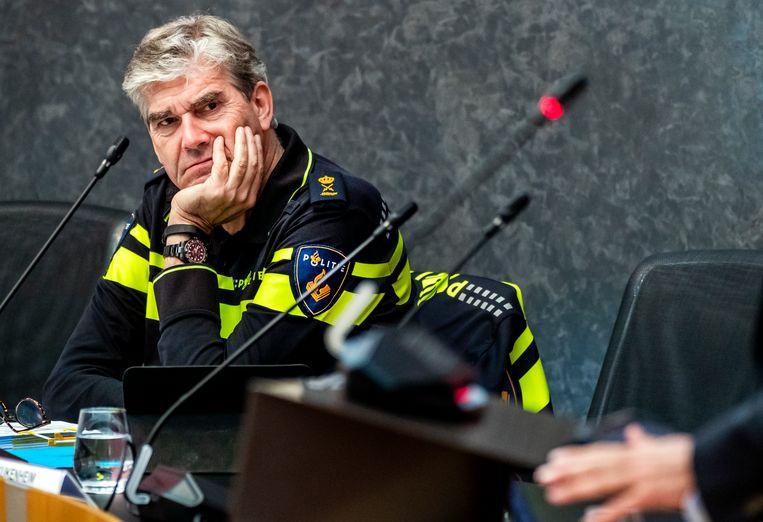 Frank Paauw, hoofdcommissaris van de Amsterdamse politie. Beeld ANP