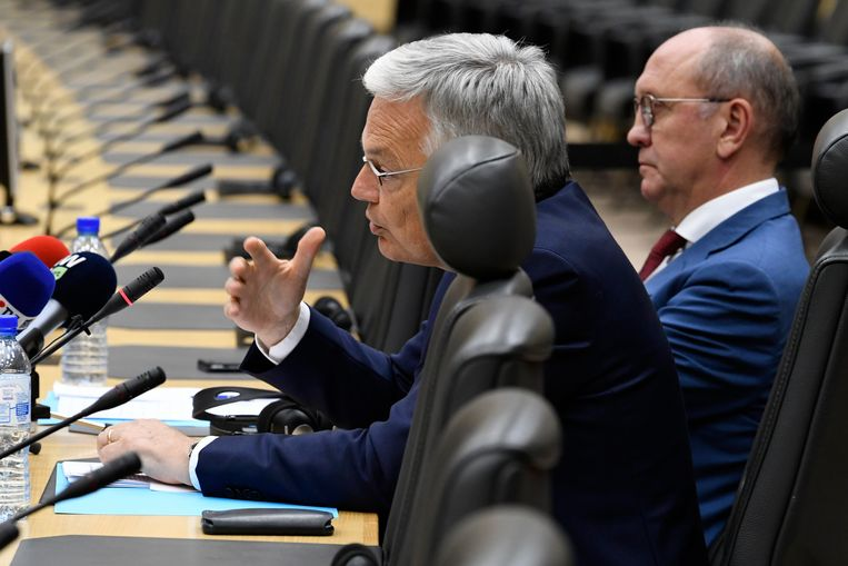 Didier Reynders is vandaag nog federaal informateur. Beeld Photo News