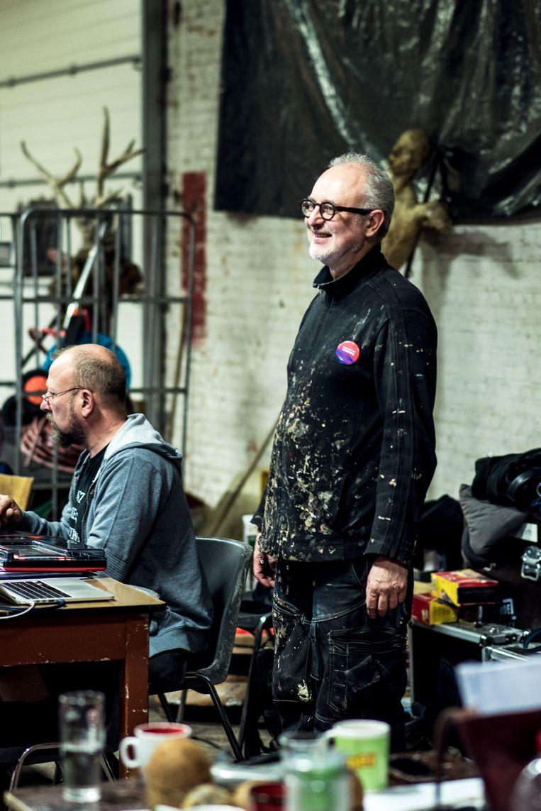Theater FroeFroe-regisseur Marc Maillard. Beeld Tine Schoemaker