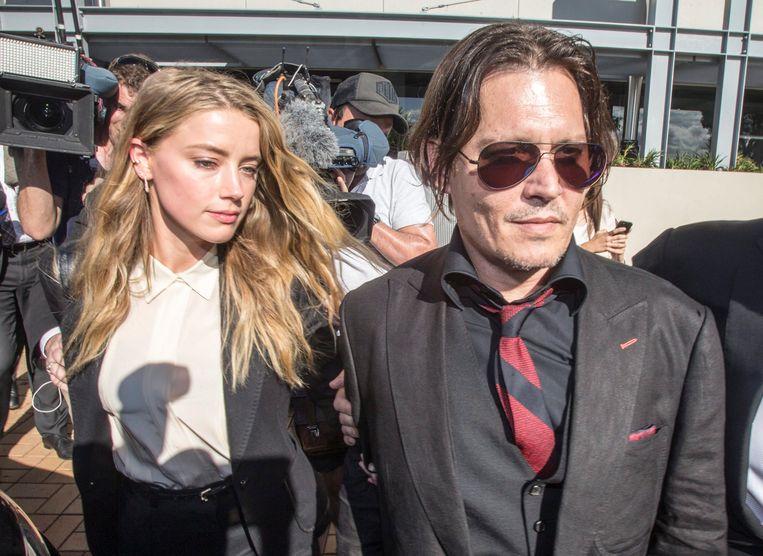 Een vriendin van Amber Heard beweert dat ze nooit iets van de mishandeling van Johnny Depp gezien heeft.