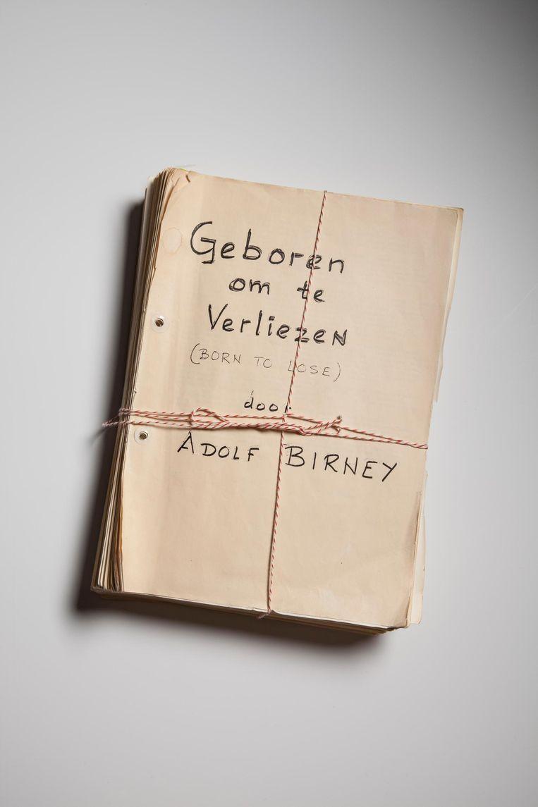 De memoires van Adolf Birney. 'Die titel, echt helemaal mijn vader.' Beeld Eddo Hartmann